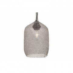 LAMP SHADE WIRE SILVER