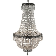 HANGING LAMP CRYSTAL 3 LIGHTS