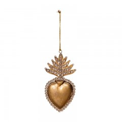 HANGING HEART BOX DECO