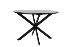 BLACKBLACK MARBLE DINING TABLE