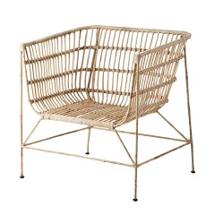 RATTAN ARMACHAR KING NATURAL