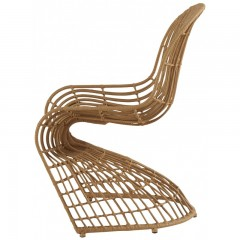 CHAIR BAMBOO CURVED