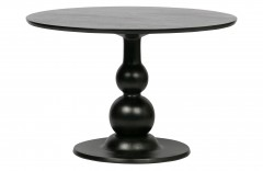 DINING TABLE MANGO WOOD BLACK