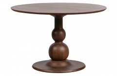 DINING TABLE MANGO WOOD WALNUT FINISH