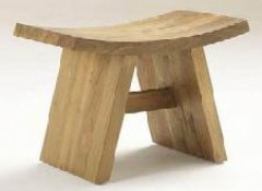 JAPANESE STOOL TEAK WOOD