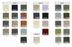 General Fabrics & Colors - SOFA BEDS