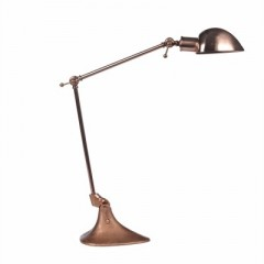 COPPER TABLE LAMP     - TABLE LAMPS