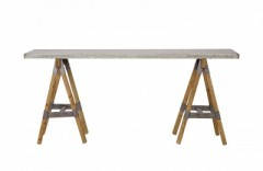 MAMA METAL WOOD-CONSOLTABLE - CONSOLS, DESKS
