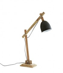 DESK LAMP NATURAL WOOD 60     - TABLE LAMPS