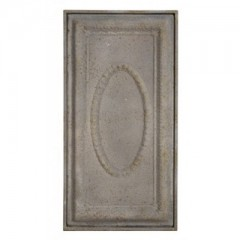 Wall Ornament Bethal Antique Grey
