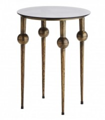 GOA BRASS CONSOLE TABLE     - CAFE, SIDETABLES